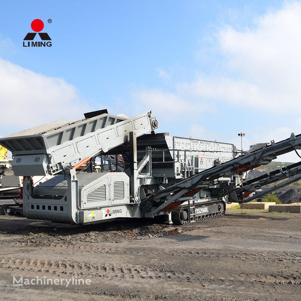 concasseur Liming Crawler Crusher Wheel / Crawler Type Mobile Crusher Machine Plan neuf