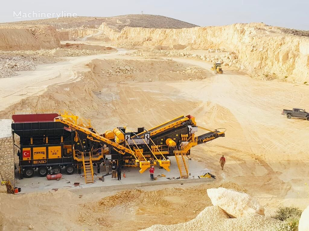 concasseur mobile FABO PRO-150 MOBILE CRUSHING & SCREENING PLANT | BEST QUALITY neuf