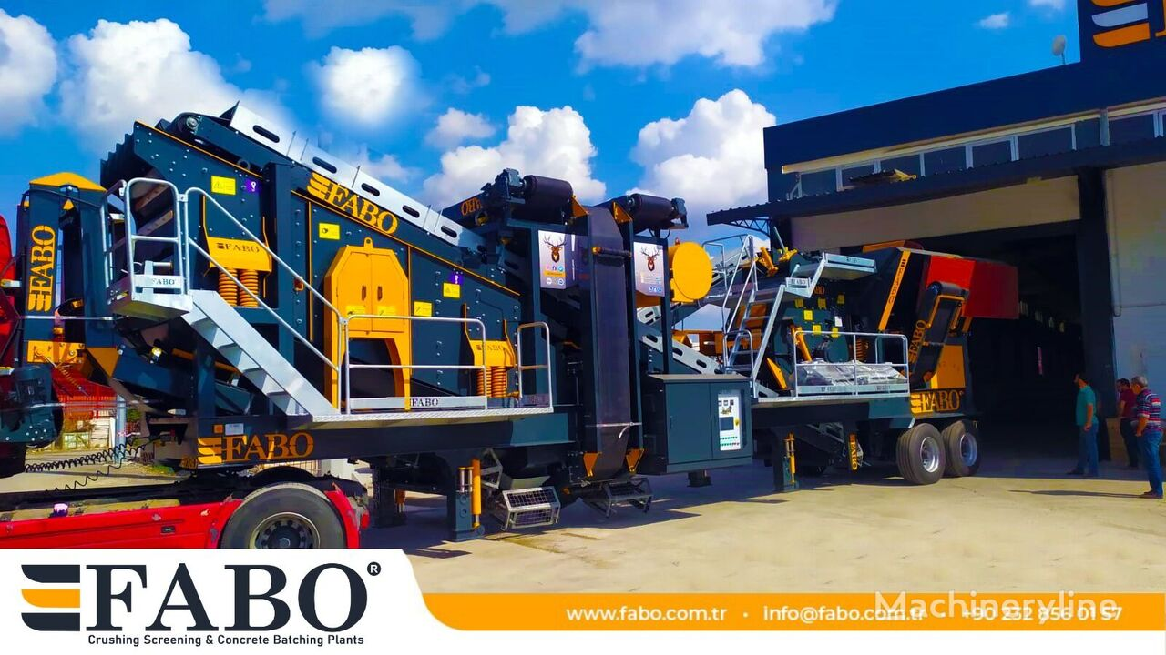 concasseur mobile FABO PRO 90 MOBILE CRUSHING&SCREENING PLANT | 90-130 TPH neuf