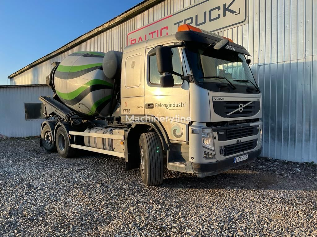 camion malaxeur VOLVO FM 370