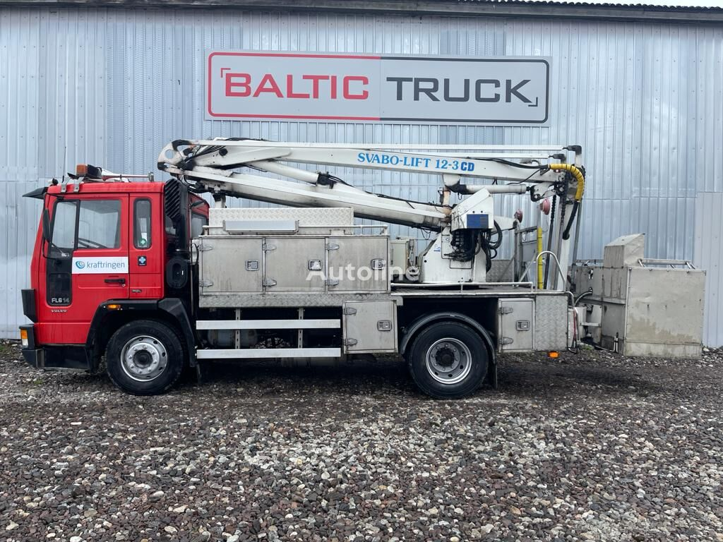 camion nacelle VOLVO FL6 14, 12m BASKET LIFT