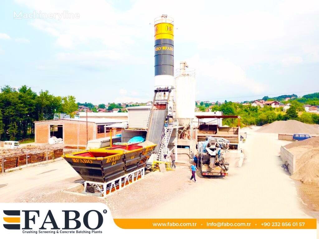 centrale à béton FABO SKIP SYSTEM CONCRETE BATCHING PLANT | 60m3/h Capacity neuve