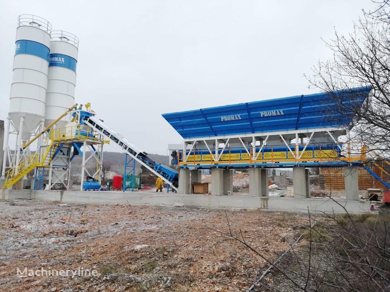 centrale à béton PROMAX  Compact Concrete Batching Plant C60-SNG-LINE (60m3/h) neuve