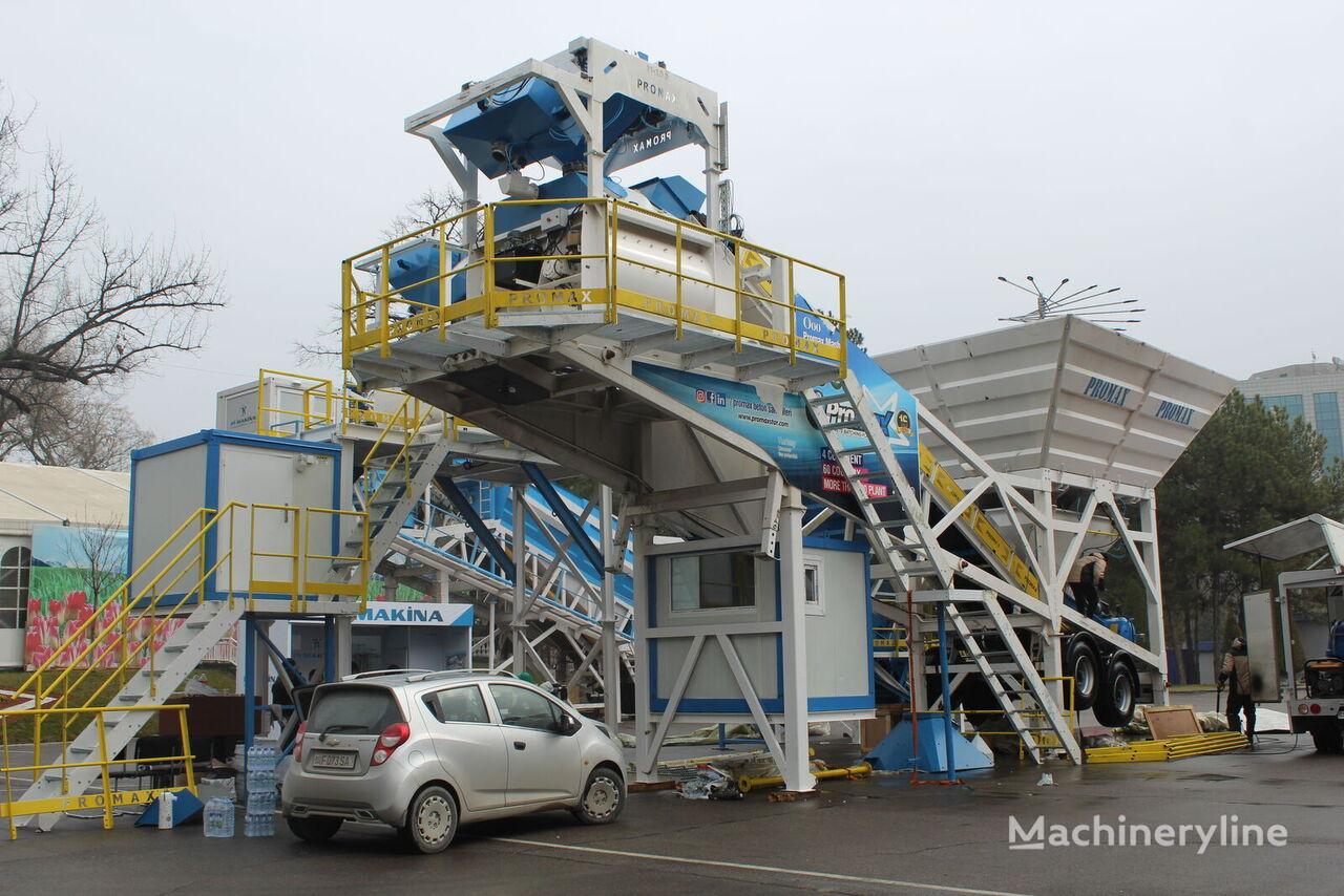 centrale à béton PROMAX Mobile Concrete Batching Plant M100-TWN (100m3/h) neuve