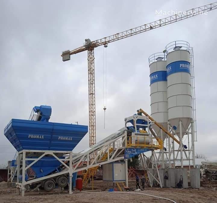 centrale à béton PROMAX Mobile Concrete Batching Plant PROMAX M120-TWN (120m³/h) neuve