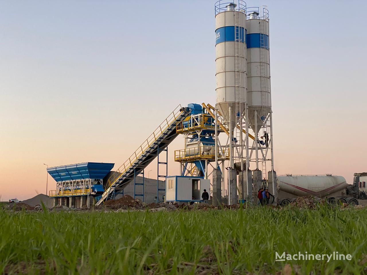 centrale à béton PROMAX STATIONARY Concrete Batching Plant PROMAX S130-TWN (130m3/h) neuve