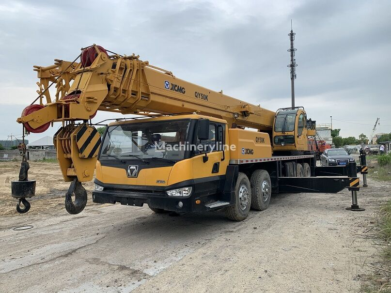 grue mobile XCMG QY50K