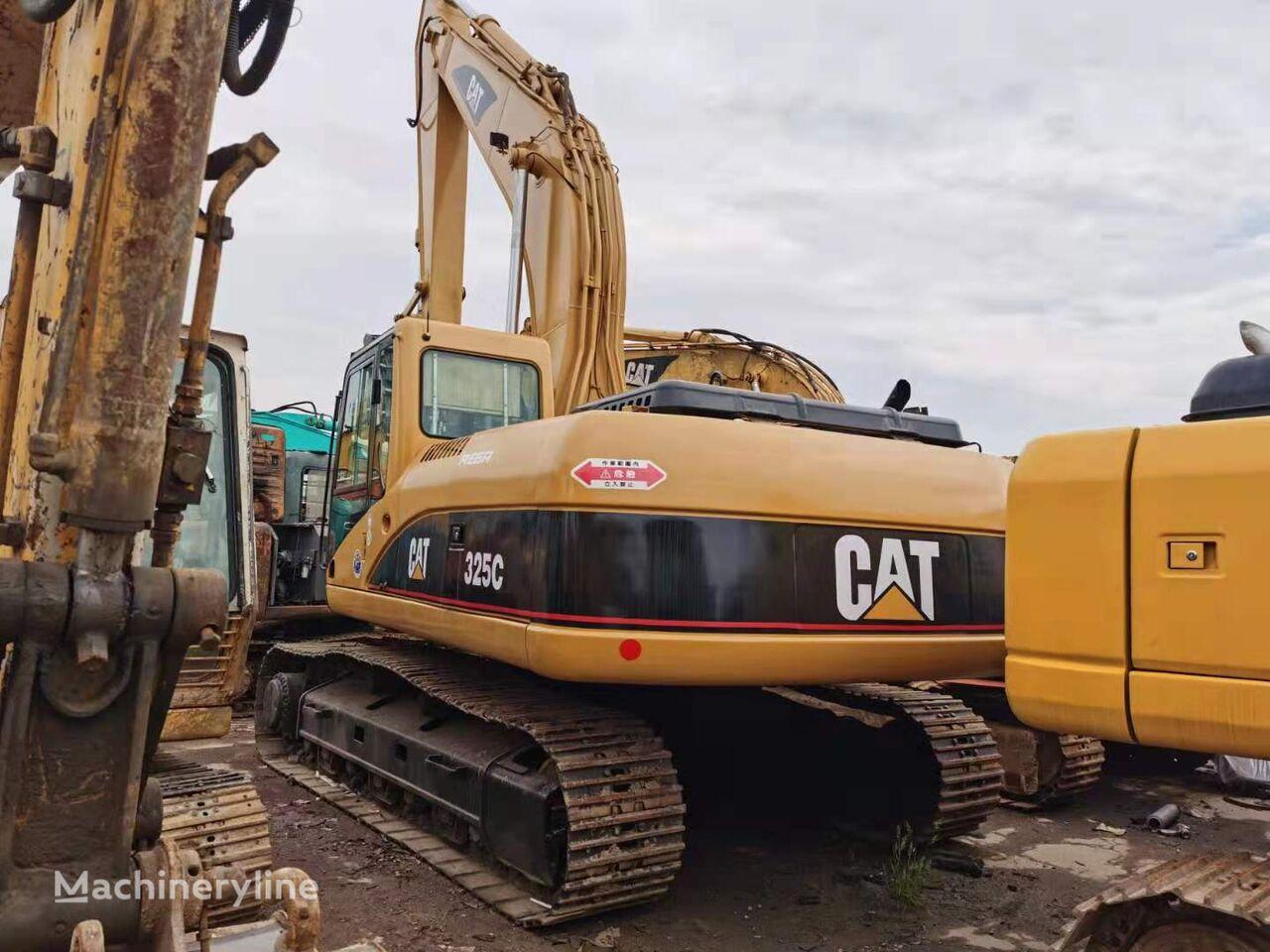 pelle sur chenilles CATERPILLAR 325C original Japan excavator good air conditioner cat engine