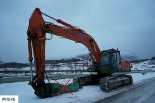 pelle sur chenilles HITACHI ZX280LC-3 with digging bucket