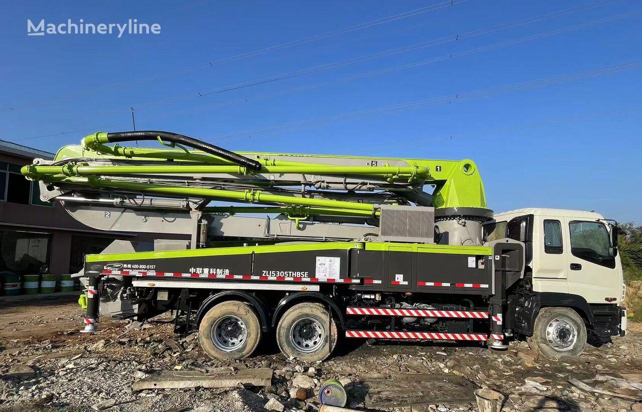 pompe à béton ZOOMLION 2010 40m on ISUZU 6*4 truck, Euro III