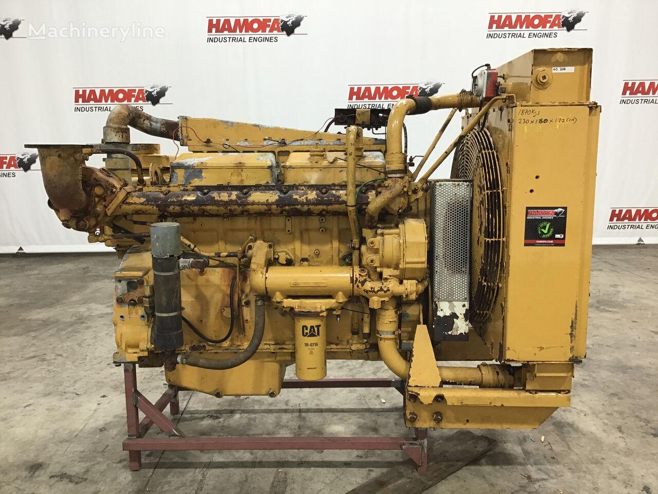 moteur CATERPILLAR 3406 90U-6N4995 USED pour autre groupe électrogène