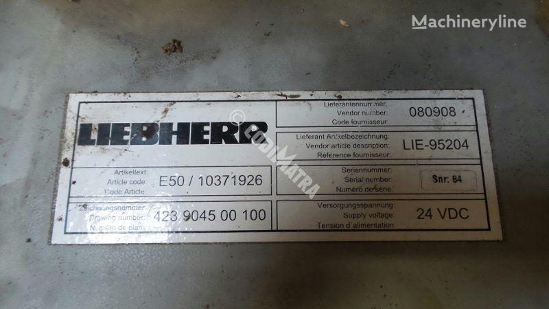 unité de commande LIEBHERR BOITIER ELECTRONIQUE E50/10371926 pour excavateur LIEBHERR R916