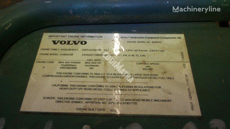 unité de commande VOLVO BOITIER ELECTRONIQUE MOTEUR (52000550001) pour tombereau articulé VOLVO A25
