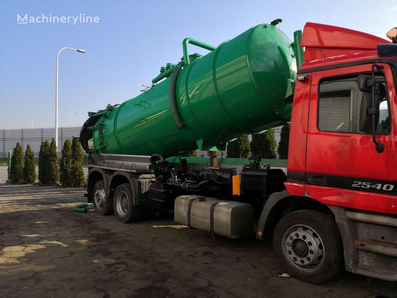 camion de vidange MERCEDES-BENZ Actros 2540