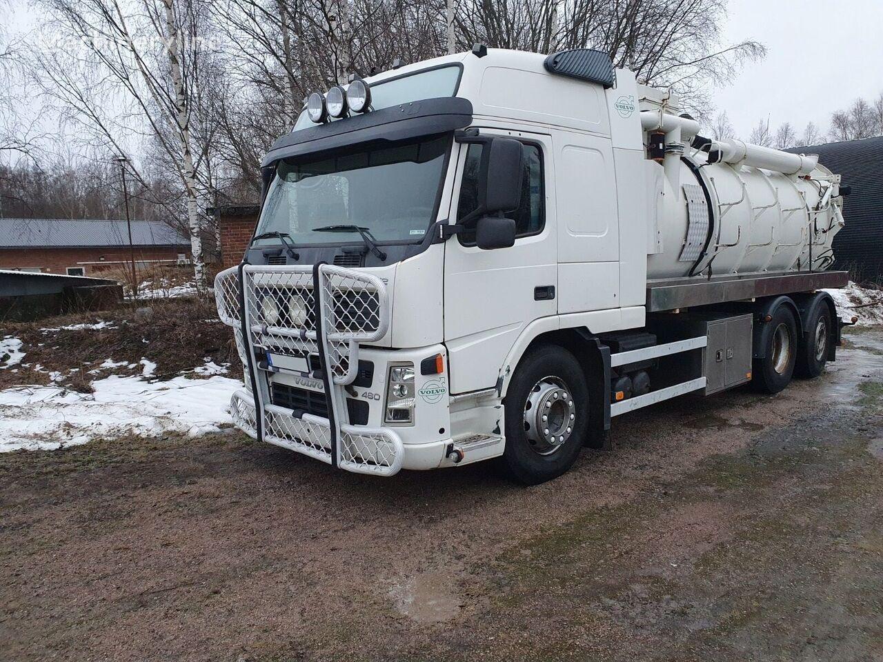 camion de vidange VOLVO FM12 460