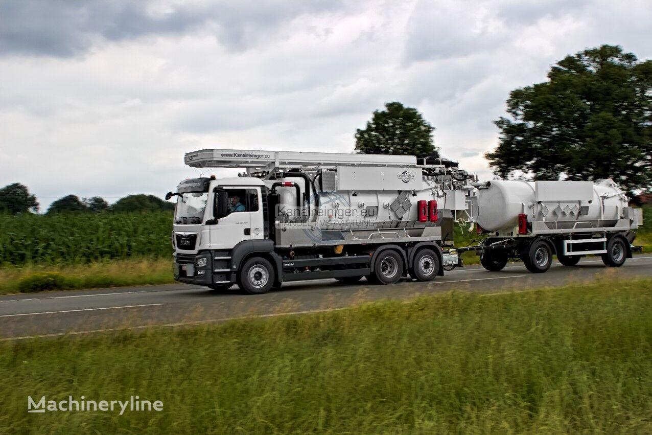 camion hydrocureur combiné MAN TGS 28.470