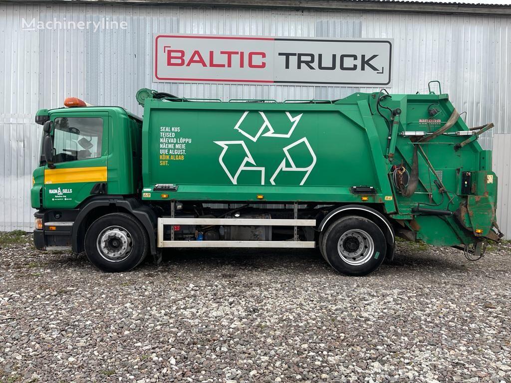 camion poubelle SCANIA P270, 4x2 NORBA