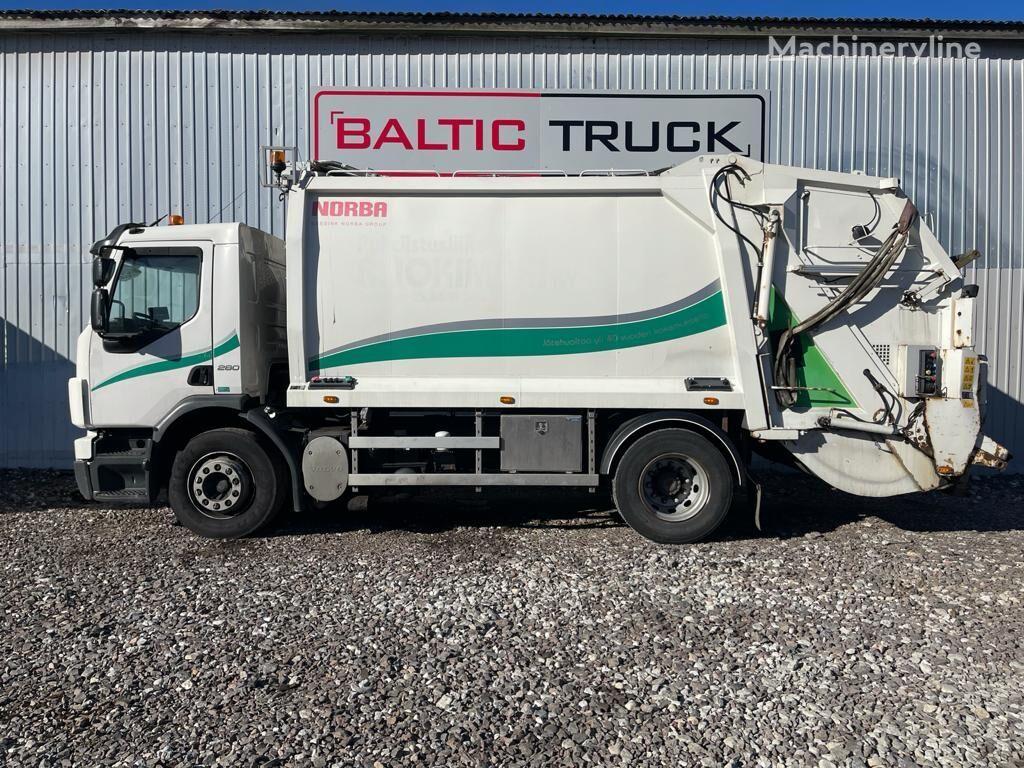 camion poubelle VOLVO FE 280